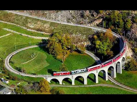 Svájci spirálviadukt