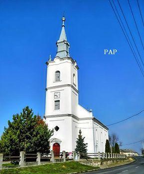 Pap Református templom