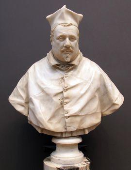 Bernini_Cardinal Scipione Borghese végleges büszt