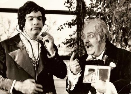 Gáti István és Gregor József a Don Pasqualéban