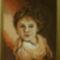 Síró kisfiú, varrta Lehner Ella gobelinfestő