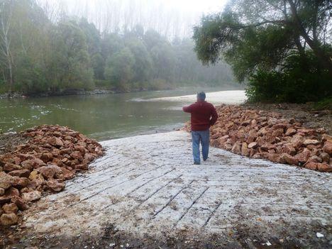 Sólyapálya a Szent Kristóf híd alvizén, Kisbodak 2014. október 29