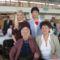 Falunk legidősebb lakója, a 100. évében lévő Gizi néni
