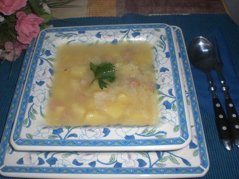 Káposzta leves