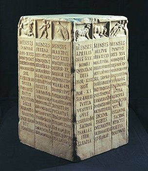 Római földműves kalendárium
