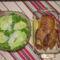 Kacsasült salátával