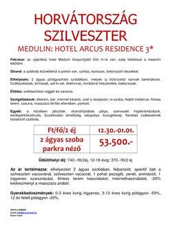 Szilveszter Hotel Arcus