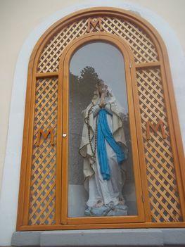 Vasvári Szűzanya szobor