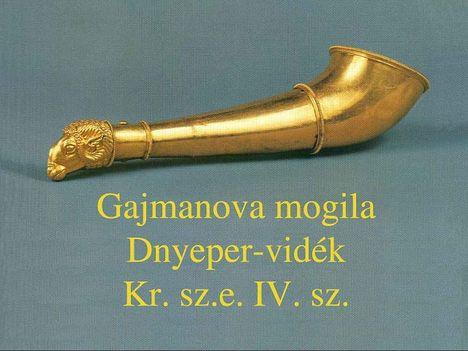 dnyeper vidéki kurgán kincse5
