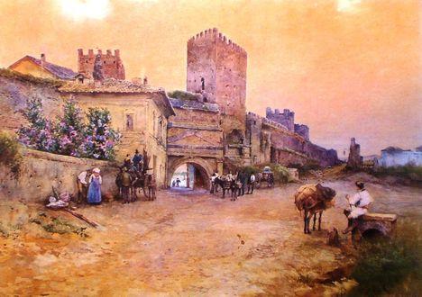 Ettore Roesler Franz_Porta San Lorenzo