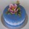 kék torta