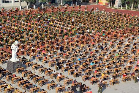 3800 diák vizsgázik egyszerre