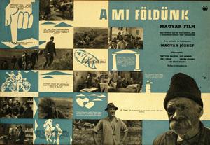 A mi földünk című film korabeli plakátjai 2