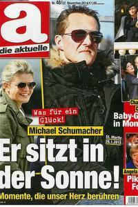 Gyomorforgató címmel címlapon Schumacher