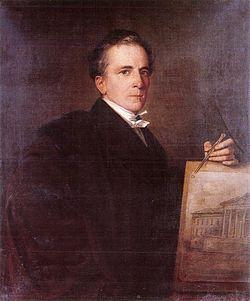 Pollack Mihály - Than Mór festménye