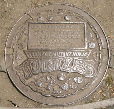A Tini nindzsák csatornafedele