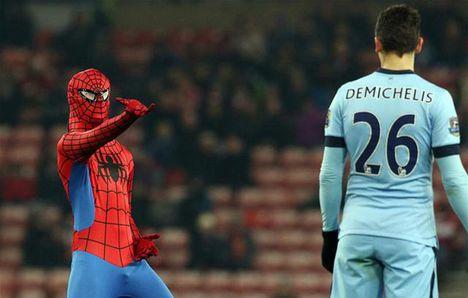 Pókember sem tudta megzavarni a Man. Cityt
