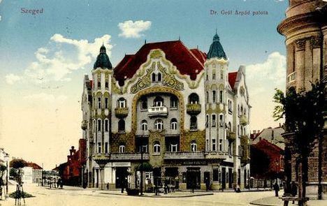Szeged - Gróf palota