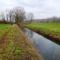 A Kisbodaki csatorna vízpótlását a Zátonyi-Dunából a Pontyos-Örvényi csatorna biztosítja, 2014. december 08.-án