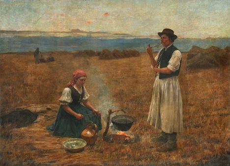 Bihari Sándor - Készül a vacsora