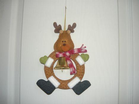 Karácsonyi ajtódíszek  2