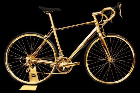 24 karátos kerékpár
