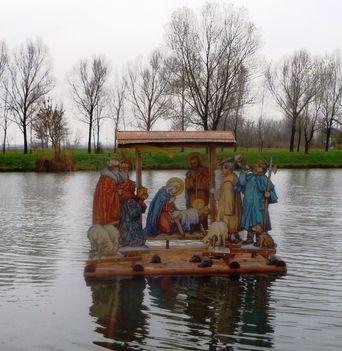 Bethlehem a Lipóti Kengyátó-tó vízfelületén, 2014. december 08.-án