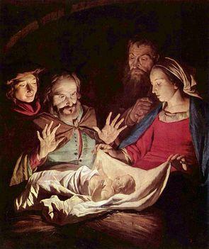 Gerard van Honthorst - Pásztorok imádása