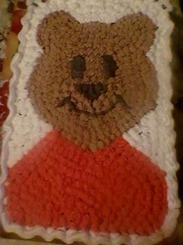 csokis macitorta kisfiam 2.szülinapjára:)
