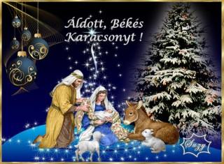Áldott békés karácsonyt!