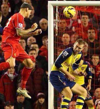Szétszedik az Arsenal védőjét, mert lehúzta a fejét