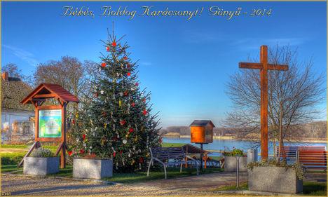 Békés, Boldog Karácsonyt! Gönyű - 2014
