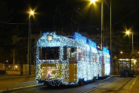 Karácsonyi villamos 1