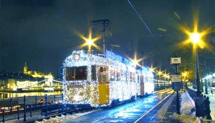 Karácsonyi villamos 3