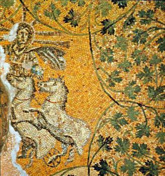 Vaticane necropolis Ceiling mosaic
