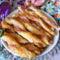 Baconos csavart sajtos rudak