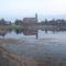 A templom és a Kerék-tó