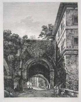 Avanzi del Palazzo de Cesari sul Monte Palatino