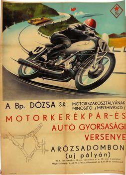 bm dózsa motorverseny