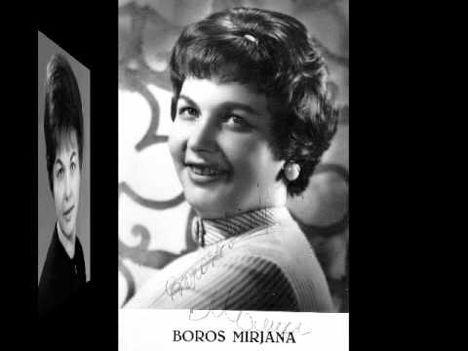 BOROSS  MIRJANA  1925  -  2014 ..
