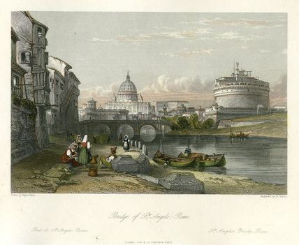 Bridge of St. Angelo 1841