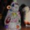 Drótból horgolt karácsonyfa 1