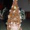 Drótból horgolt karácsonyfa 2