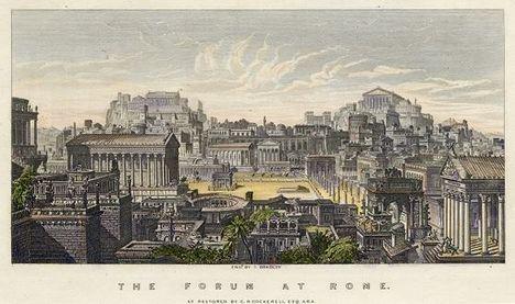 Forum at Rome, 1846