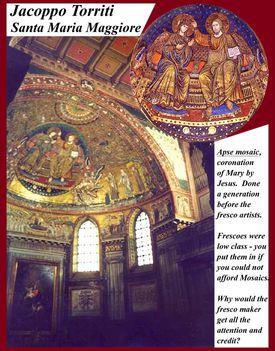 Jacoppo Torriti_Santa Maria Maggiore bazilika2