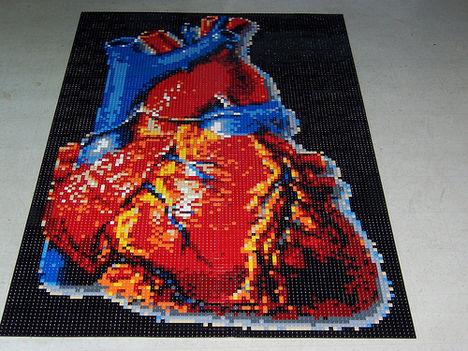 LEGO szív