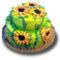 Napraforgós torta