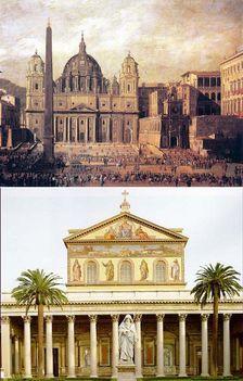 November:18 Szent Péter- és Szent Pál-bazilikák felszentelésének évfordulója