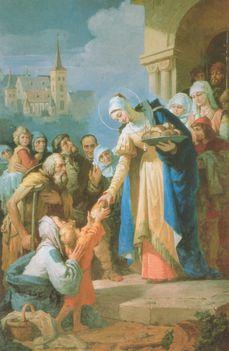November 19:Árpádházi Szent Erzsébet