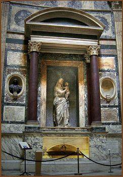Pantheon Raffaello sírja